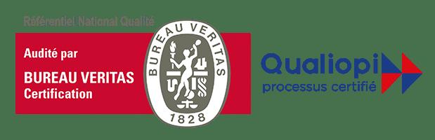 Logo Bureau Veritas et Qualiopi